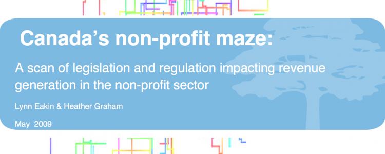 canada's non-profit maze
