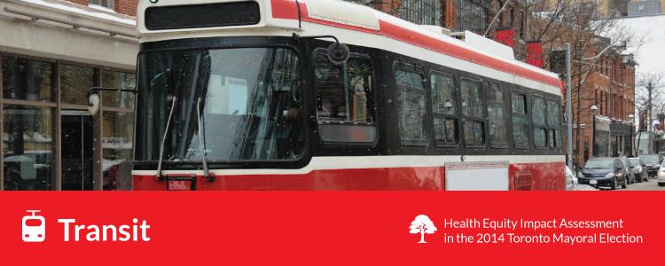 transit - toronto streetcar