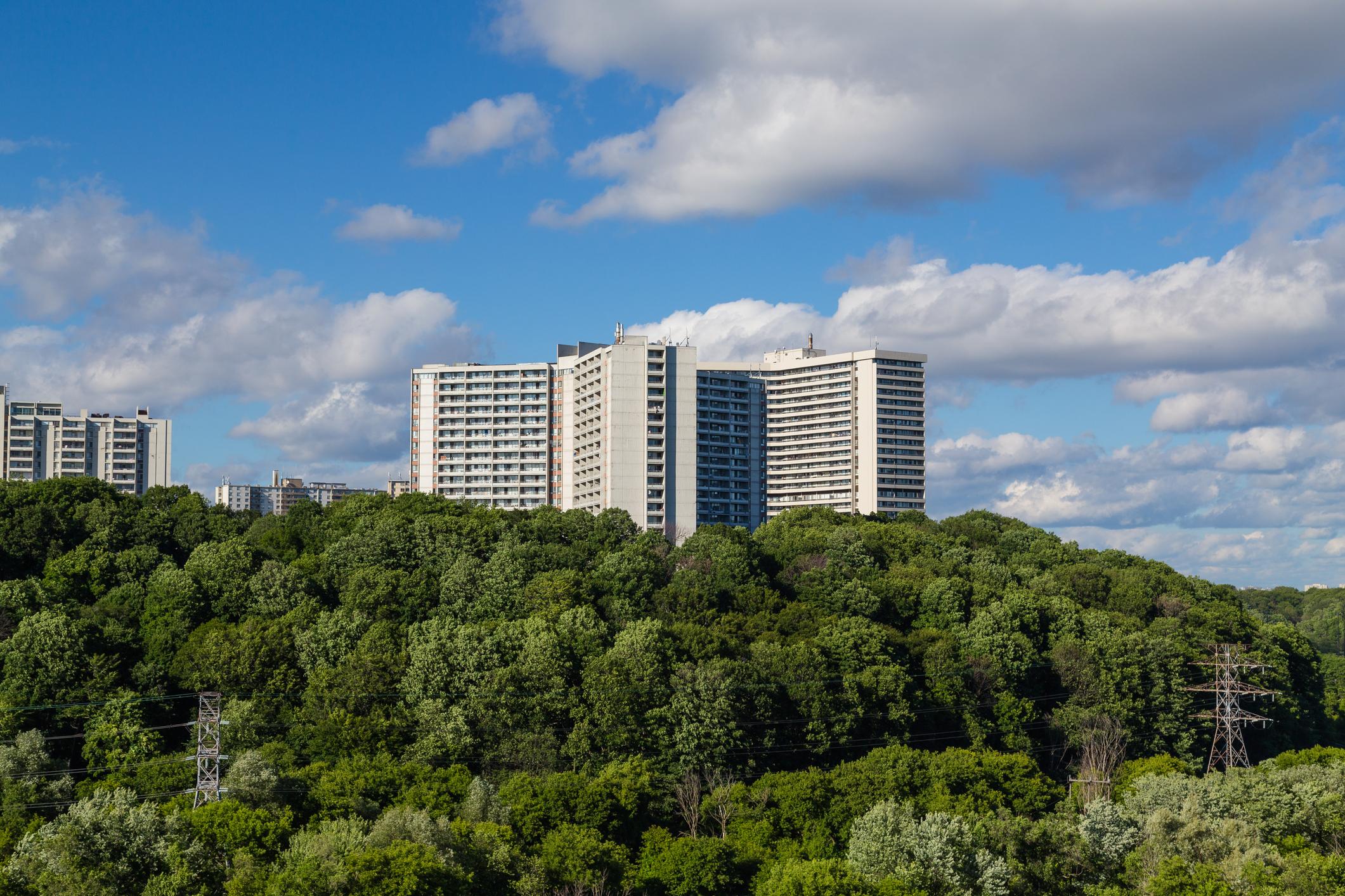 apartment building in Toronto