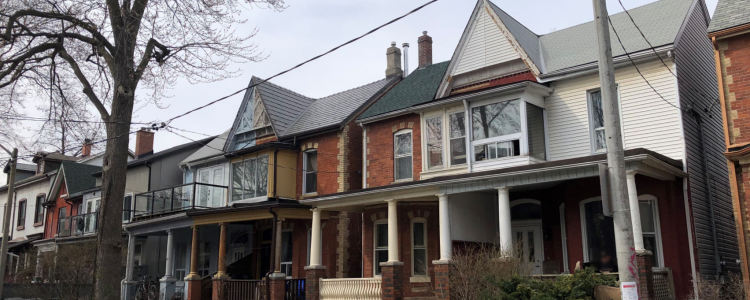 victorian style homes in Toronto